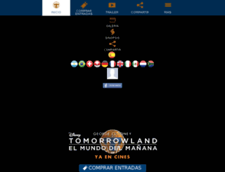 tomorrowlandelmundodelmanana.es screenshot