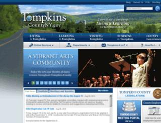 tompkins-co.org screenshot