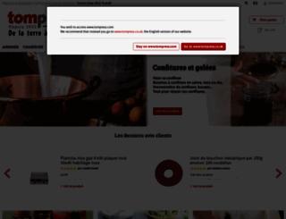 tompress.com screenshot