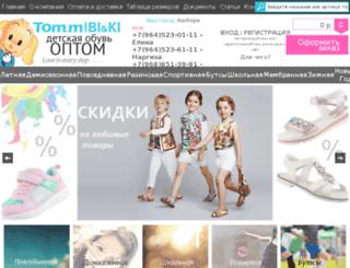tomshoes.ru screenshot