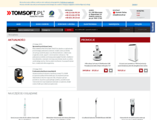 tomsoft.pl screenshot