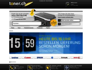 toner.ch screenshot