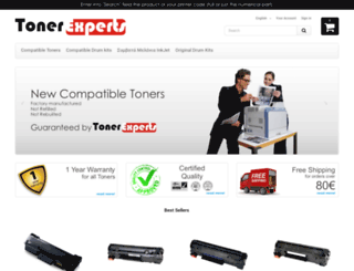 tonerexperts.gr screenshot