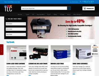 tonerlasercartridgeonline.com screenshot