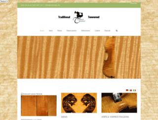 tonewoods.info screenshot