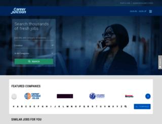 tongaat.careerjunction.co.za screenshot