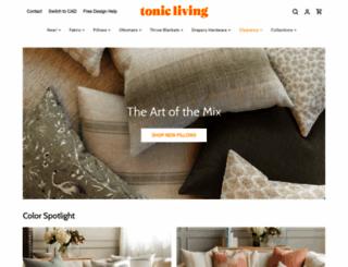 tonicliving.com screenshot