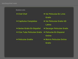 toniheychef.com screenshot