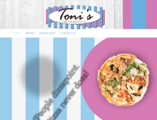 tonipizza.co.za screenshot