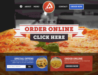 tonyspizza.ie screenshot