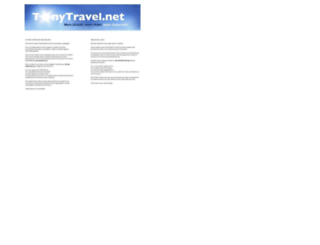 tonytravel.net screenshot