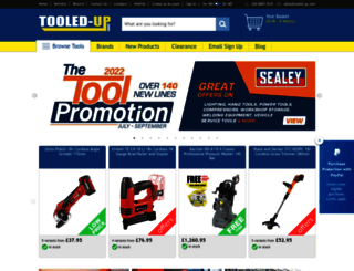 tooled-up.com screenshot