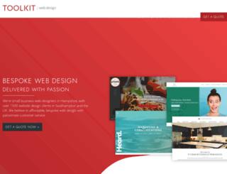 toolkitwebsites.co.uk screenshot