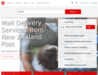 tools.nzpost.co.nz screenshot