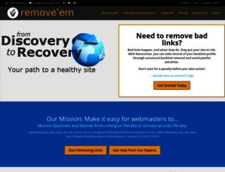 tools.removeem.com screenshot