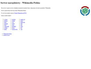 tools.wikimedia.pl screenshot