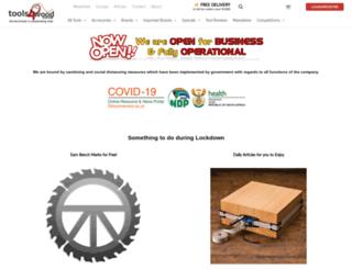 tools4wood.co.za screenshot
