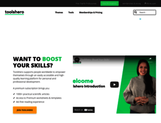 toolshero.com screenshot