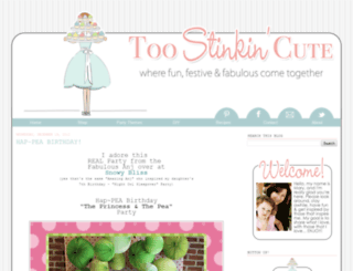 toostinkincute.blogspot.com screenshot