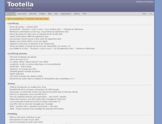 tootella.org screenshot