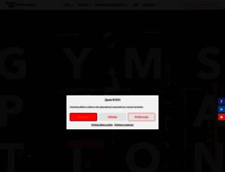 top-gym.pl screenshot