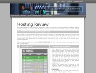 top-hosting-review.org screenshot