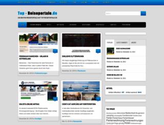 top-reiseportale.de screenshot