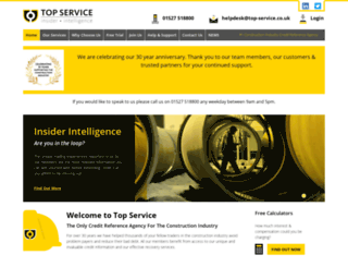 top-service.co.uk screenshot