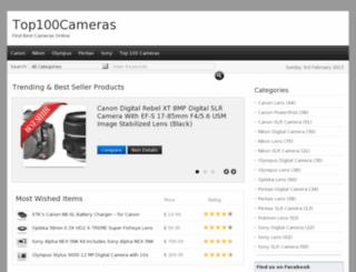 top100cameras.com screenshot