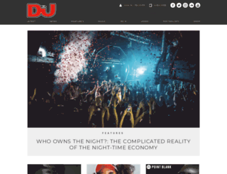top100djs.djmag.com screenshot