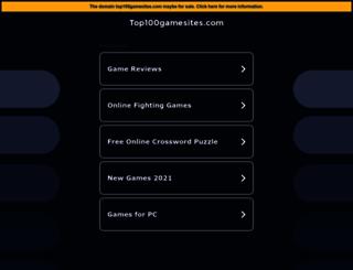 top100gamesites.com screenshot