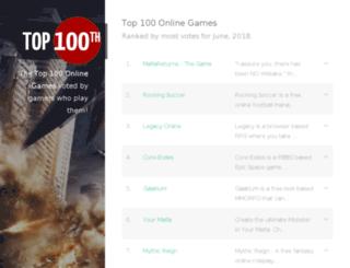 top100th.com screenshot