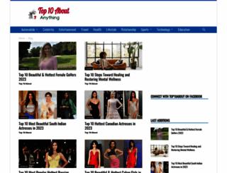 top10about.com screenshot