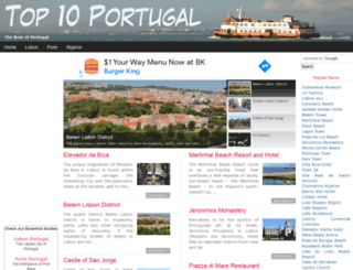 top10portugal.com screenshot