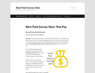 top20paidsurveys.com screenshot
