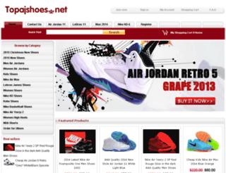 topajshoes.net screenshot