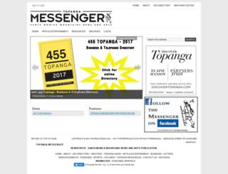topangamessenger.com screenshot
