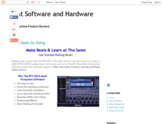topbeatmakingprogram.com screenshot