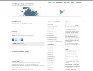 topblog.ch screenshot