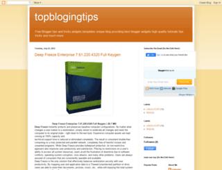 topblogingtips.blogspot.com screenshot