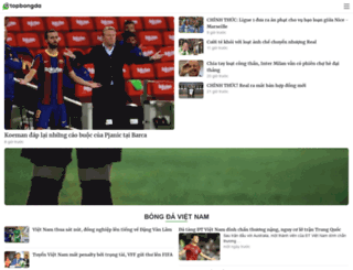 topbongda.com screenshot