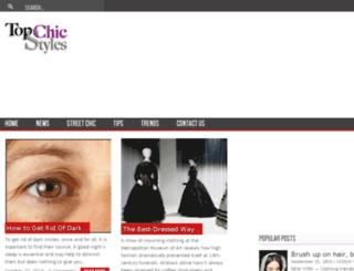 topchicstyles.com screenshot