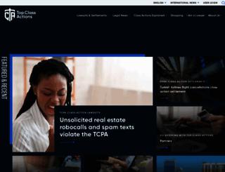 topclassactions.com screenshot