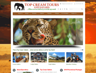 topcreamsafaris.com screenshot