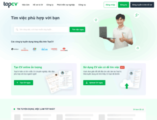 topcv.vn screenshot
