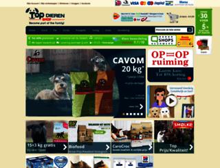 topdierenshop.nl screenshot