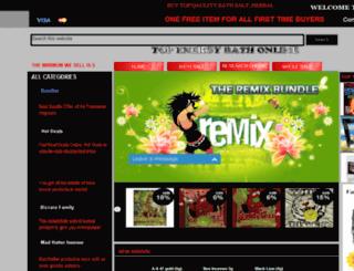 topenergybathonline.com screenshot