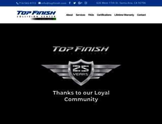 topfinish.com screenshot