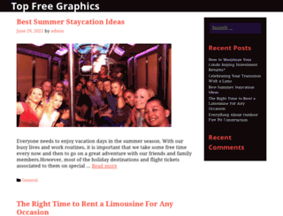topfreegraphics.com screenshot