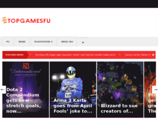 topgamesfu.com screenshot